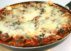 Johnsonville Skillet Lasagna.  Now this looks really good for something different!