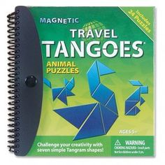 Animal Puzzles ~ Magnetic Travel Tangoes