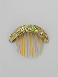 Comb  Florence Koehler  (1861–1944)  Date: ca. 1905  Chicago