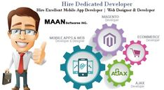 We at #MAAN provide highly skilled #developers which can be hired for a long-term duration that can act as an #asset for your #company.We #assure you 100 percent #support and highly professional #team for your #web and #applicationdevelopment.