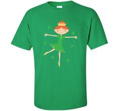 St Patricks Day Irish Princess Holiday T-shirt Tee