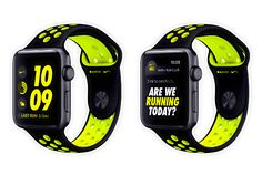 Apple Watch Nike+ имеют эксклюзивный циферблат и ПО Nike для спортсменов
