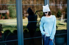 #Grungie #women's #sweater   Orginal Sweater  Losse waeve Top