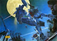 Yuu Kajima (GM) VS Blue Destiny 01 - Mobile Suit Gundam The Blue Destiny