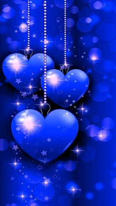 By Artist Unknown. Wallpaper Azul, Bling Wallpaper, Heart Wallpaper, Butterfly Wallpaper, Love Wallpaper, Wallpaper Iphone Cute, Cellphone Wallpaper, Wallpaper Backgrounds, Love You Images