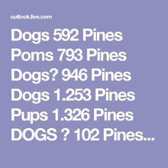 Dogs  592 Pines       Poms  793 Pines       Dogs♥  946 Pines       Dogs  1.253 Pines       Pups  1.326 Pines       DOGS ♥  102 Pines  Ver más tableros