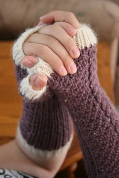 Fingerless Gloves- I think I may need to learn to knit