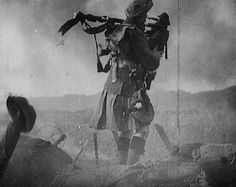Over a 1000 pipers died during WWI. These extraordinary men were sitting ducks as they went over the top to pipe their men into battle.