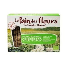Le Pain Des Fleurs Organic Buckwheat Crispbread Gluten Free No Added Sugar Salt 125g  #organic #foodie #healthyfood #govegan #foodporn #instagood #fitness #healthy #vegetarian #plantbased