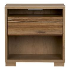 "Crate & Barrel ""Sierra"" Nightstand. One of these on each side of the bed in the Master."