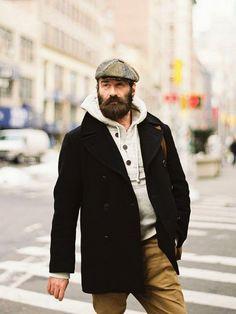Beard :: art and beauty large men fashion, tall men fashion Large Men Fashion, Look Fashion, Mens Fashion, Chubby Men Fashion, Fashion For Big Guys, Fashion Ideas, Fashion Advice, Fashion Fashion, Big And Tall Style