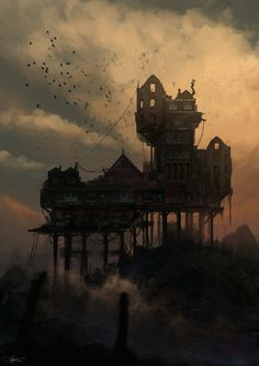Abandoned House by artificialdesign