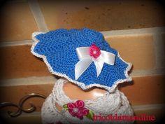 je vous présente Ethel chapeau barbie http://tricotdamandine.over-blog.com/2015/02/je-vous-presente-ethel.html
