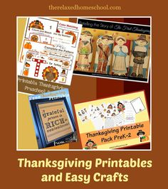 This week is Thanksgiving! There are so many fun educational or craftsy things to do with your children to learn about this holiday.