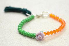 Lovely Petite Bracelet - #freetutorial #bracelet
