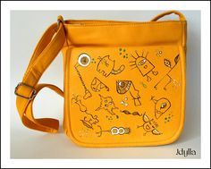 #handpainted #handbags #trendy #idylla #torebka