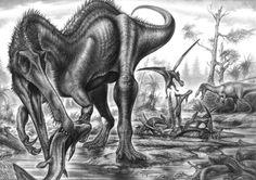 Baryonyx walker by Fabio Pastori, PaleoPastori on deviantART