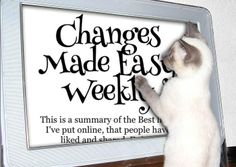Changes Made Easy Weekly http://modo.ly/1fsF3rv ❤ #links #articles #affirmations