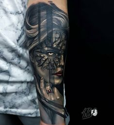 """982 Likes, 3 Comments - Tattoo Realistic (@tattoorealistic) on Instagram: """"Sick pieces by @ata.ink from Bali, India."""""""