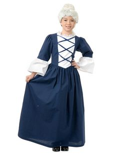 Check out Martha Washington Child Costume | Costume SuperCenter | On Sale from Costume Super Center  sc 1 st  Pinterest & Costume SuperCenter (costumesc) on Pinterest