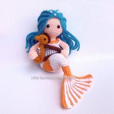 Pisces amigurumi crochet pattern by Little Bamboo Handmade