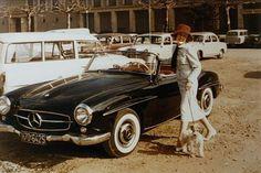 Rosemarie Nitiribitt Mercedes 190sl