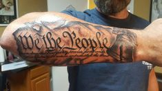 Patriotic Tattoos Would Appear To Be In Full Swing Theconstitution