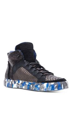 Sneakers - ROBERTO CAVALLI - 100% Calf-skin leather