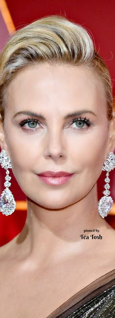 ❇Téa Tosh❇ Charlize Theron - Oscars 2017 Red Carpet in Hollywood (Chopard)