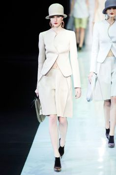 Emporio Armani Fall 2013 RTW Collection - Fashion on TheCut