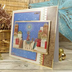 Christmas Themes, Christmas Cards, Hunkydory Crafts, True Meaning Of Christmas, Ready To Pop, Card Making Inspiration, Paper Crafts, Club, Frame