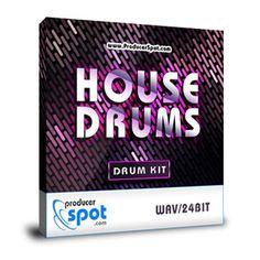 Free House Drum Kit - Drum Samples http://www.producerspot.com/free-house-drum-kit-drum-samples-by-producer-spot