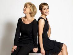 """Emma Watson and Alberta Ferretti Debut """"Pure Threads"""" eco-fashion line."""