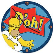 Simpsons D'oh! Cordless Wood Wall Clock - http://lopso.com/interests/clocks/simpsons-doh-cordless-wood-wall-clock/