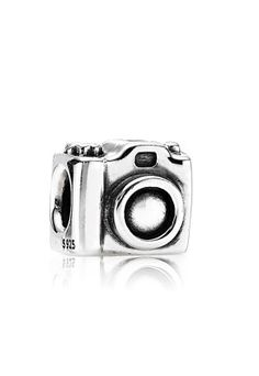 Camera Pandora charm. Its natural for me to snap 200 photos in a day:) when its my kids it just seems like its not enough:)