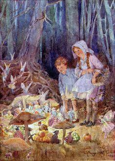 Fairy Market by Margaret W. Tarrant (1888-1959)