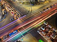 Seoul Picture – Travel Wallpaper – National Geographic Photo of the Day Intelligent Transportation System, Polo Norte, Great Place To Work, Travel Wallpaper, Long Exposure, Light Painting, Cartography, National Geographic Photos, City Life
