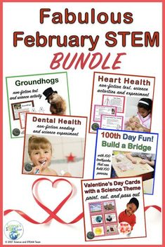 Your students will have science fun throughout the month of February with this money-saving bundle! Learn about light energy while exploring groundhogs, build a bridge that will hold 100 pennies on… More