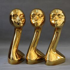 Source sales off brand new chrome gold mannequin head on m.alibaba.com
