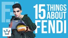 15 Things You Didn't Know About FENDI https://www.youtube.com/watch?v=c_-UPGxJML4