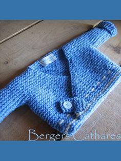 Kit à tricoter Eugène et Eugénie laine