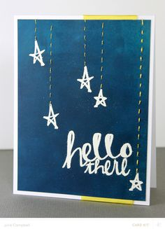 Stardust Card by Julie Campbell at @Studio_Calico