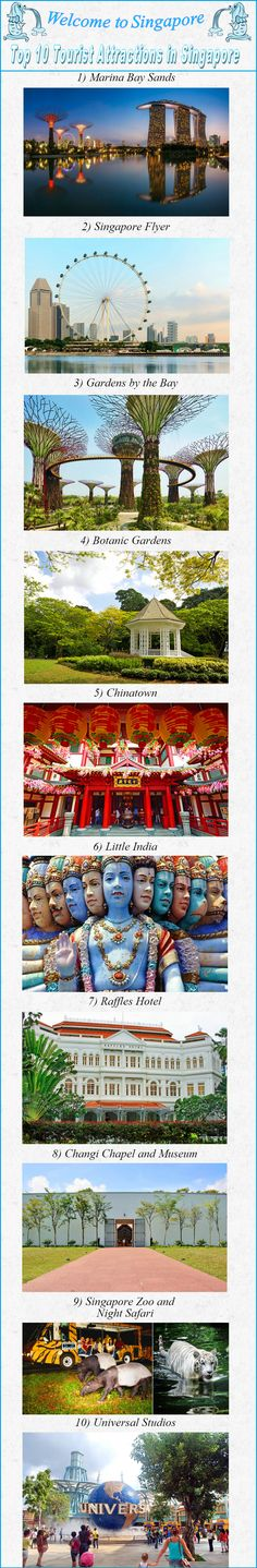 Need to go to Singapore - 2015-2018 Top 10 Tourist Attractions in Singapore