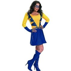 Disguise Inc - Wild Thing (Daughter Of Wolverine) Classic Adult Costume