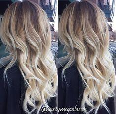 Balayage on Blonde Hair