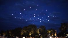 49 Hovering Quadrotors Make This The Biggest Flying Robot Performance Yet | The Creators Project
