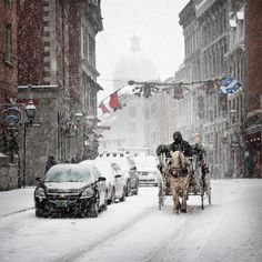 Montreal in winter. St Paul street in Old Montreal. Montreal In Winter, Quebec Montreal, Old Montreal, Montreal Ville, Quebec City, Montreal Travel, Best Travel Websites, Best Places To Travel, Places To Visit