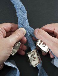 Varifolder... a big help when making braided rugs!