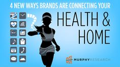4 New Ways Brands Are Connecting Your Health & Home http://www.murphyresearch.com/4-new-ways-brands-connecting-health-home/?utm_content=buffer7b465&utm_medium=social&utm_source=pinterest.com&utm_campaign=buffer  #health #technology #consumers #marketing #apps #thinkLA