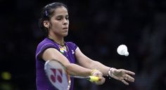 Saina Nehwal defeated World No 5 seed Tine Baun of Denmark to become the first ever Indian badminton player to reach the semifinals in Olympics. Saina defeated Tine Baun in a match which lasted for 37 minutes. Olympic Badminton, French Open, Sports Training, Semi Final, New Details, Finals, Olympics, Shit Happens, World
